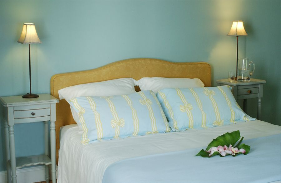 The Blue Bedroom at Clos Mirabel