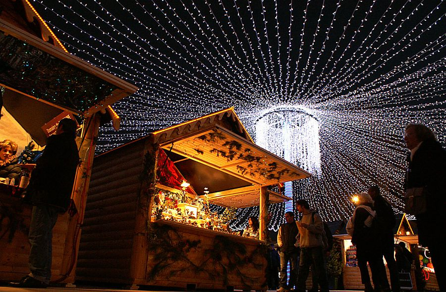 Christmas market in Pau