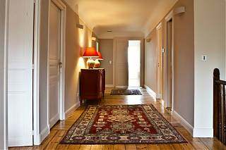 Corridor leading to guest bedrooms in the Manor House