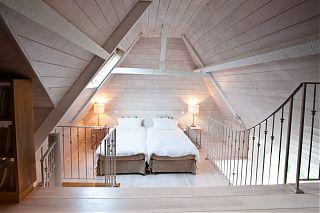 chambre mezzanine 2 lits 90cm