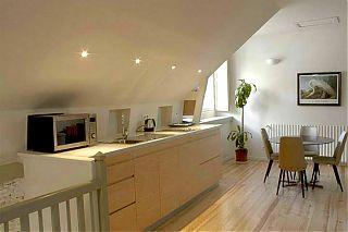 L'Appartement du Loft - la cuisine