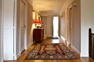 couloir dans le manoir