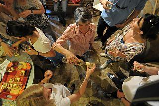 cinq femmes - réception privée degustation de vin de jurancon